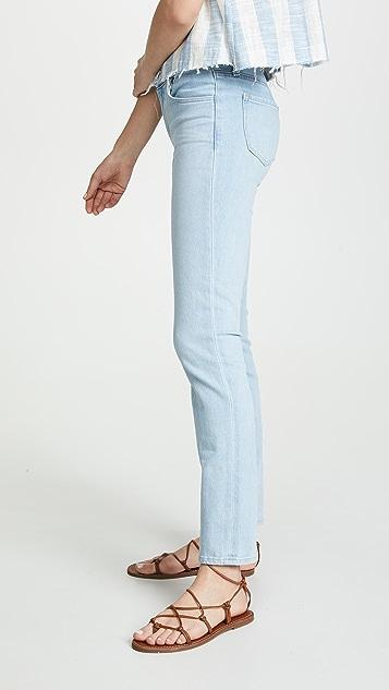 J Brand Maude Mid Rise Cigarette Jeans