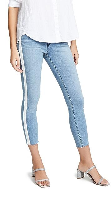 J Brand Укороченные джинсы-скинни 835 со средней посадкой
