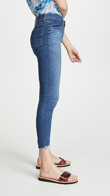 J Brand Alana 高腰紧身牛仔裤