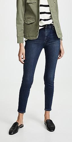 J Brand - Alana 高腰紧身牛仔裤