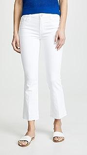 J Brand Selena Mid Rise Boot Cut Jeans