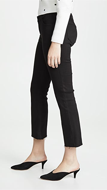 J Brand Selena 九分微喇牛仔裤
