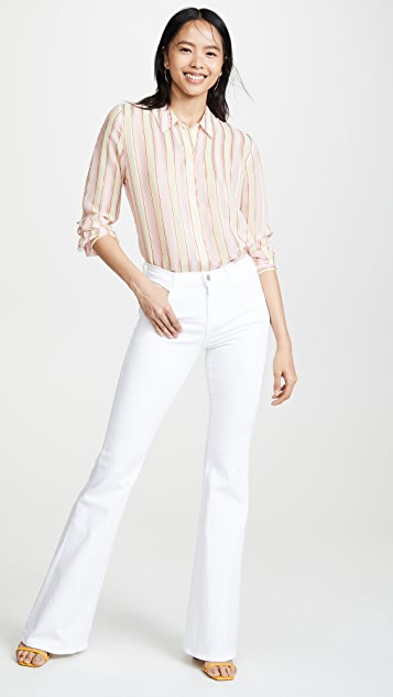 J Brand Рубашка с открытой спиной Elena