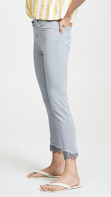 J Brand Ruby 高腰烟管九分牛仔裤