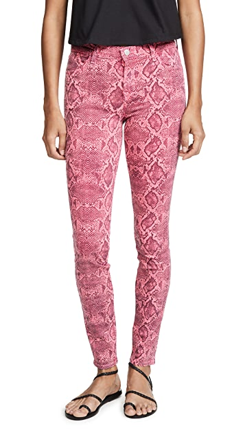 J Brand 620 Neon Pink Boa Jeans