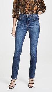 J Brand Ruby High Rise Cigarette Jeans