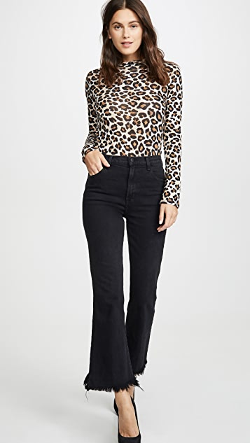 J Brand Julie High Rise Flare Jeans