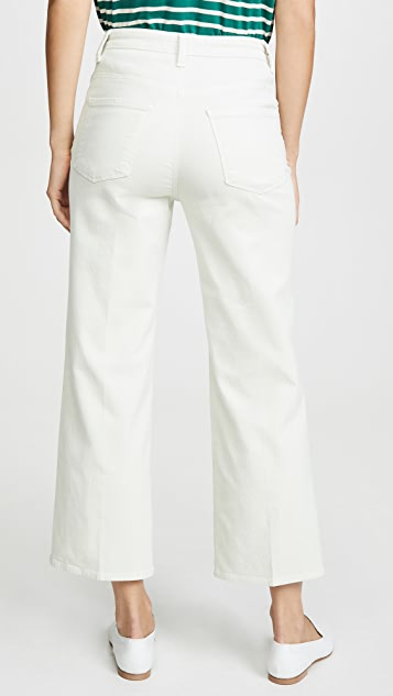 J Brand Joan 高腰灯芯绒九分裤