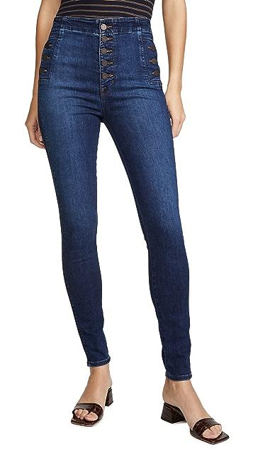 J Brand Natasha Sky High 紧身牛仔裤
