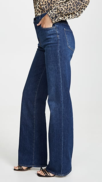 J Brand Joan High Rise Wide Leg Jeans