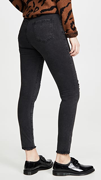 J Brand Leenah High Rise Ankle Skinny Jeans