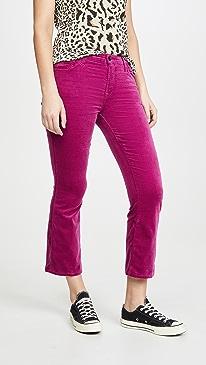 Selena Mid Rise Boot Cut Jeans