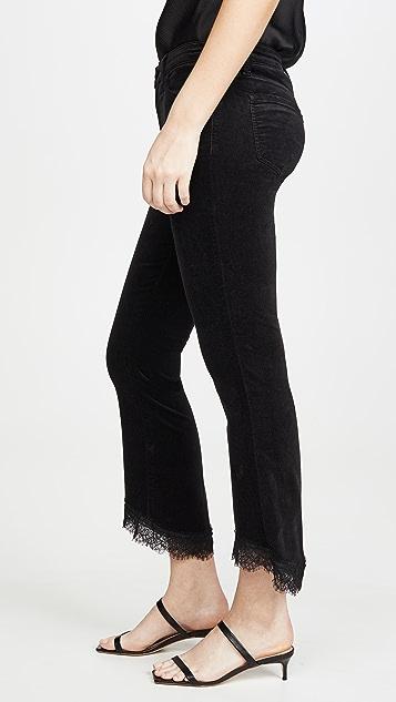 J Brand Selena 中腰七分微喇裤