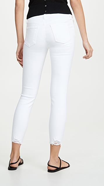 J Brand 835 中腰九分紧身牛仔裤