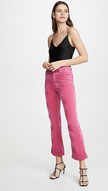 J Brand Расклешенные брюки Julia с высокой посадкой