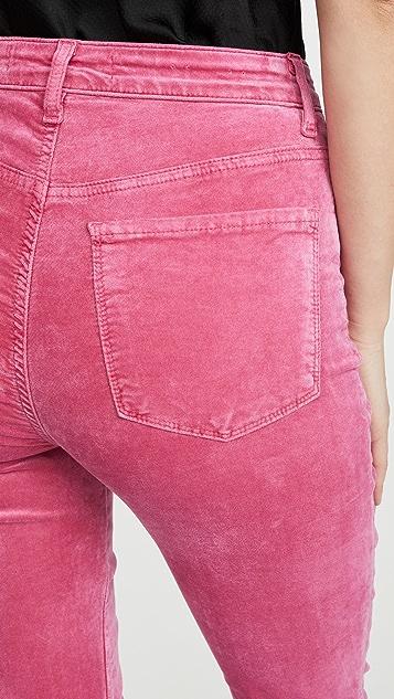 J Brand Julia High Rise Flare Pants