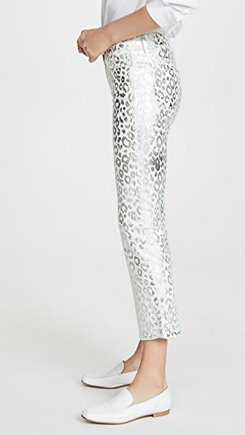 J Brand Укороченные буткат-джинсы Selena со средней посадкой