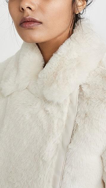 J Brand Isleen Faux Fur Jacket
