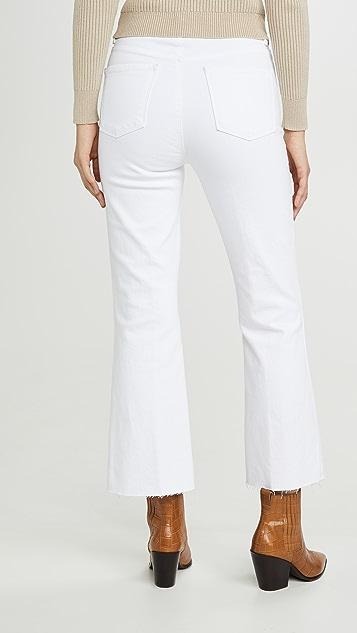 J Brand Расклешенные джинсы с высокой посадкой Julia