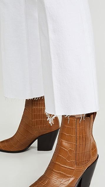 J Brand Julia 高腰喇叭牛仔裤
