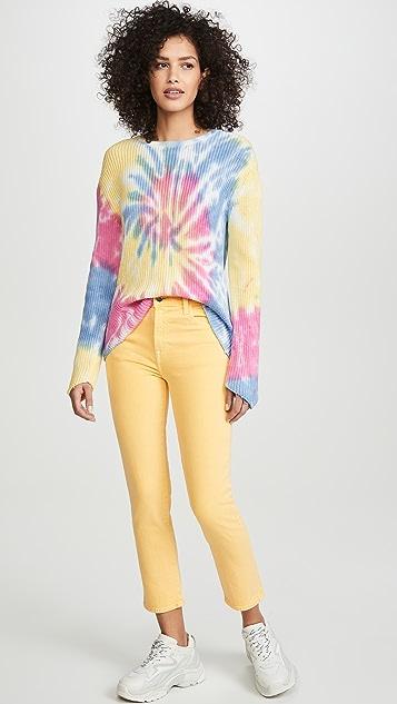 J Brand Укороченные джинсы-дудочки Ruby с высокой посадкой