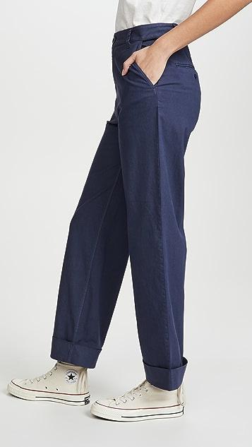 J Brand Ebbe Wide Leg Trousers