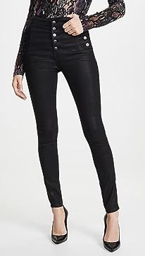 Natasha Sky High Coated Skinny Jeans