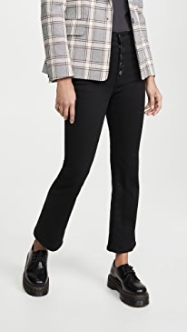 Lillie High Rise Crop Flare Jeans