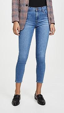 Alana High Rise Crop Skinny Jeans