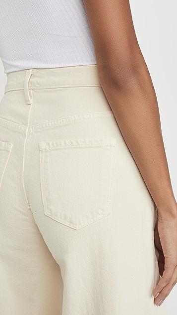 J Brand Очень широкие джинсы Thelma с высокой посадкой