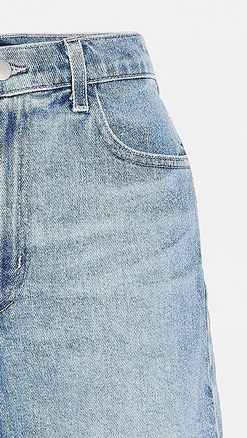 J Brand Jules High Rise Denim Shorts
