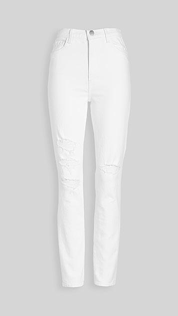 J Brand 1212 Runway 高腰修身直脚牛仔裤
