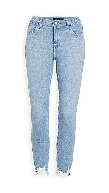 J Brand 835 中长紧身牛仔裤
