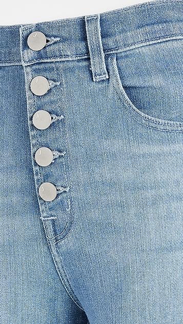 J Brand Lillie 高腰中长紧身牛仔裤