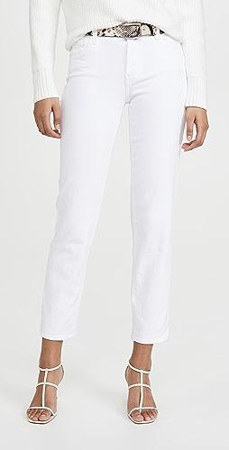 J Brand - Adele Mid Rise Straight Jeans
