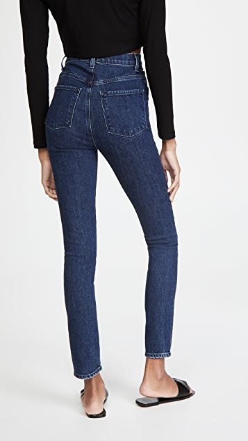 J Brand 1212 Runway High Rise Slim Straight Jeans