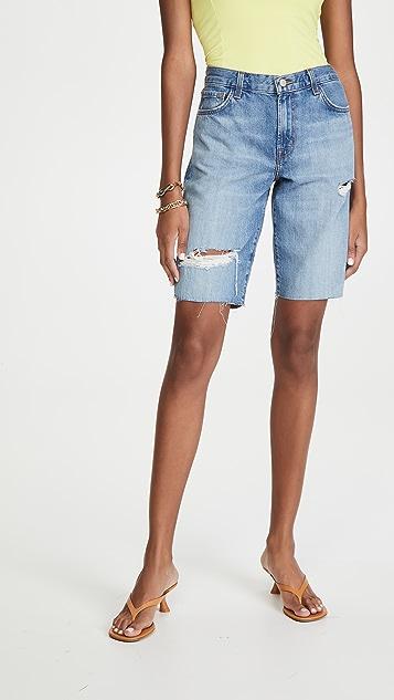 J Brand Relaxed Bermuda Shorts