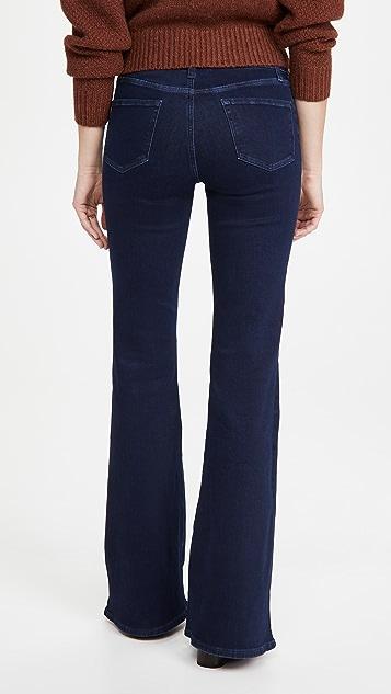 J Brand Valentina 高腰喇叭牛仔裤