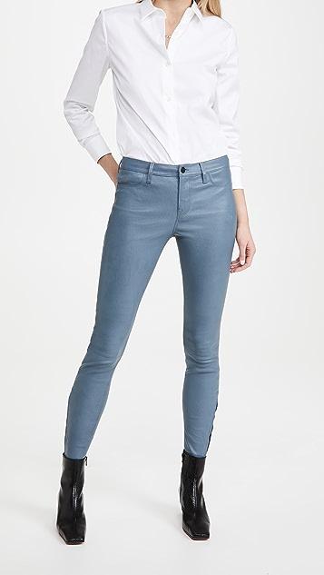 J Brand L8001 Mid Rise Skinny Pants