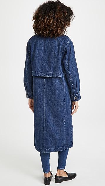 J Brand Billie Trench Coat