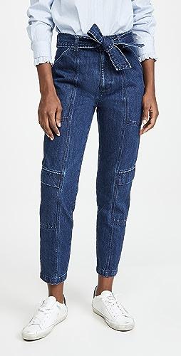 J Brand - Athena 实穿腰结裤子