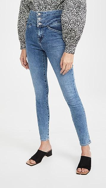 J Brand Annalie High Rise Skinny Jeans
