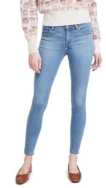 J Brand Sophia 中腰超紧身牛仔裤