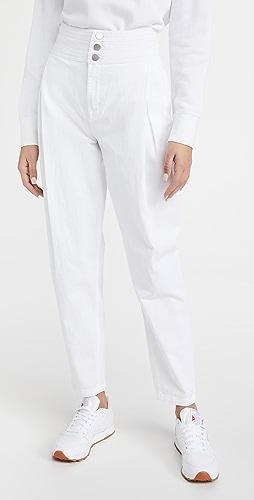 J Brand - Carey 高腰锥形牛仔裤