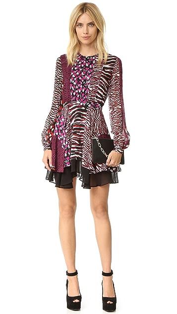 Just Cavalli Animal Patch Dress