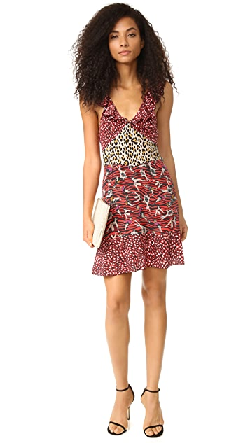Just Cavalli Baby Cat Print Dress