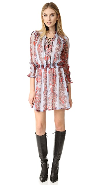 Just Cavalli Lace Up Dress
