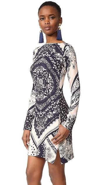 Just Cavalli Patchwork Bandana Shift Dress
