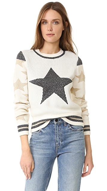 Just Cavalli Star Stripe Sweater
