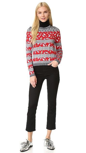 Just Cavalli Lightning Stripe Sweater